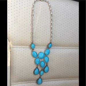 NWOT Turquoise necklace